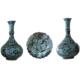 Oğuz Çini Tabaklı Vazo Seti