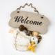 Welcome Melek Kapı Ve Duvar Süsü\ Yılbaşı Süsü 11X14 LN876-1