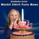 Hediye Paketim Kendinden Açılan Müzikli Sihirli Pasta Mumu