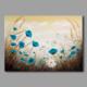 Tablom Mavi Gelincikler Modern Kanvas Tablo