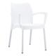 Siesta Contract Dolce Sandalye - Beyaz