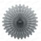 Kikajoy Dekoratif İkili Yelpaze Süs Gümüş