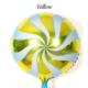 Kikajoy Sarı Renk Candy Folyo Balon 2'li
