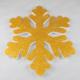 Kikajoy Altın Renk Kar Tanesi Strafor Yılbaşı Dekor Süs 25 cm - 1 adet