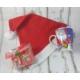 Miss Cici Yılbaşı Hediyelik Noel Baba Kupa Şapka Ve Çikolata Seti