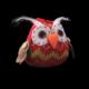 Euro Flora Süs Baykuş Askılı 8 Cm Asorti