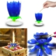 Pandoli Mavi Işıklı Sesli Doğum Günü Pasta Mumu