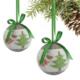 Kikajoy Çam Ağacı ve Geyikler Desenli Yılbaşı Ağaç Süsü - 6 adet