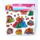 Prensesler 3D Puffy Sticker + Frozen Tattoo Hediye DS-223