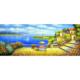 Deniz Manzarası 2 70x180 Yağlı Boya Tablo %100 El Yapımı