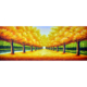 Sonbahar 70x180 Yağlı Boya Tablo %100 El Yapımı