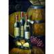 Şaraplar Yağlı Boya Tablo %100 El Yapımı