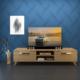 Eyibil Mobilya Güneş 180 cm Ceviz Tv Sehpası Tv Ünitesi