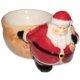 Noel Baba Çuvalı Görünümlü Yılbaşı Tabağı
