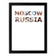 decArtHOME Moskova Anı Çerçevesi (30 x 40 cm Siyah)