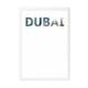decArtHOME Dubai Anı Çerçevesi ((21 x 30 cm Beyaz)