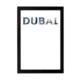 decArtHOME Dubai Anı Çerçevesi (21 x 30 cm Siyah)