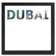decArtHOME Dubai Anı Çerçevesi (23 x 23 cm Siyah)