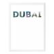 decArtHOME Dubai Anı Çerçevesi (30 x 40 cm Beyaz)