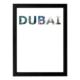decArtHOME Dubai Anı Çerçevesi (30 x 40 cm Siyah)