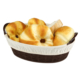 Hasır Desenli Ekmek Sepeti Bezli Küçük 2 Adet C