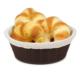 Hasır Desenli Ekmek Sepeti Bezli Küçük 2 Adet B