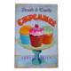Cupcakes Dekoratif Pano 611