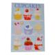 Cupcake Dekoratif Pano 613
