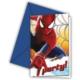 HKostüm The Amazing Spiderman 2 Parti Davetiyesi ( 6 Adet )