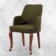 Hira Demonte Lükens Ceviz Ayaklı Kollu Sandalye