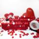 Harfdekor Evlilik Teklifi Seti - Özel Tasarım Kırmızı Kaplamalı + Gül Yaprağı + Mum + Balon + Çerçeve + Kalp