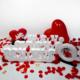 Harfdekor Evlilik Teklifi Seti - Özel Tasarım Beyaz Kaplamalı + Gül Yaprağı + Mum + Balon + Çerçeve + Kalp