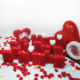 Harfdekor Evlilik Teklifi Seti Büyük Boy + Gül Yaprağı + Mum + Balon + Çerçeve + Kalp (Ölçü 20-4 Cm)
