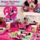 Partypark Minnie Mouse Deluxe Parti Seti (16 Kişilik)