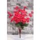 Yapay Çiçek Deposu 9lu yapay bahar dalı (yapay çiçek –açık kırmızı)