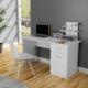Lavanta Çalışma Masası - Beyaz