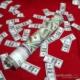 Cix Dolar Püskürten Konfeti (38 cm)