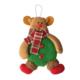 KullanAtMarket Ayıcık Noel Baba Peluş Asma Süs