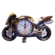 Falkon Hardymix Dekoratif Motorsiklet Masa Saati