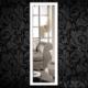 Boy Aynası Düz Çerçeve Beyaz