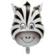 Elitparti Zebra Folyo Balon