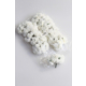 Yapay Çiçek Deposu 144lü Mini Lateks Gül Beyaz