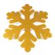Kikajoy Altın Renk Kar Tanesi Strafor Yılbaşı Dekor Süs 50 cm - 1 adet