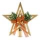 Fiyonk Süslü Yıldız Yılbaşı Çam Ağacı Tepeliği
