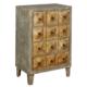 Wenge Home Masif Mango Wood Konsol 63x42x95 Cm