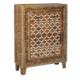 Wenge Home Masif Mango Wood Konsol 80.5x32x111 Cm