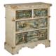 Wenge Home Masif Mango Wood Konsol 93x39x94 Cm