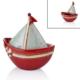 Cemile Yelkenli Kapaklı Kırmızı Küçük Kayık 19 Cm