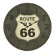 Wenge Home Duvar Saati Route US 80 Cm