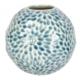Karaca Home Brush Vazo 13.3X13.3X12.3 Cm Blue